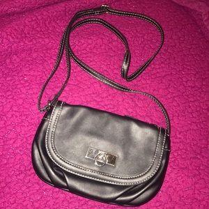 Black Rosetti Crossbody Bag